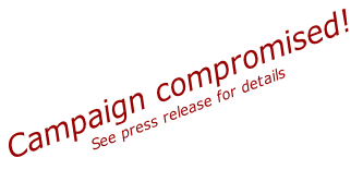 Campaign compromised! See press release for details